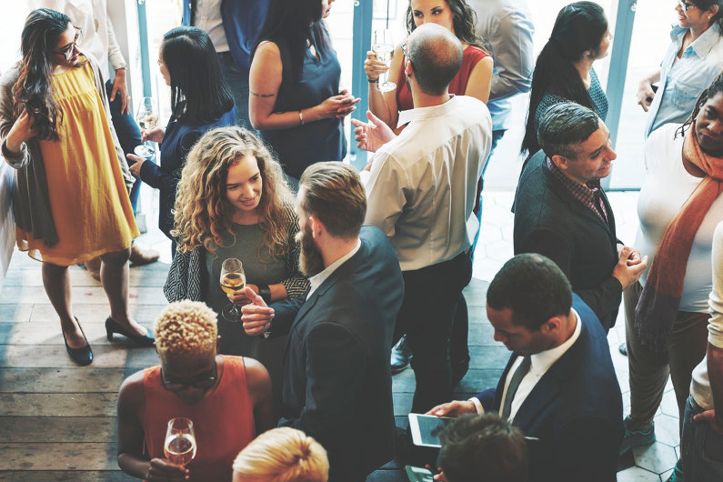 Business networking with local business owners