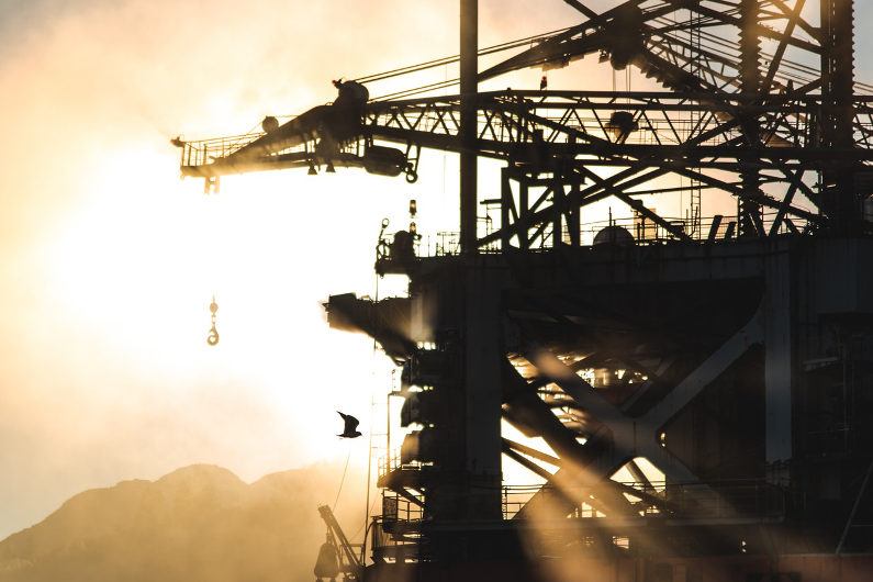Natural gas mining